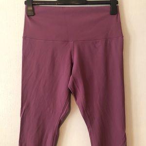 Pink Lululemon scalloped legging